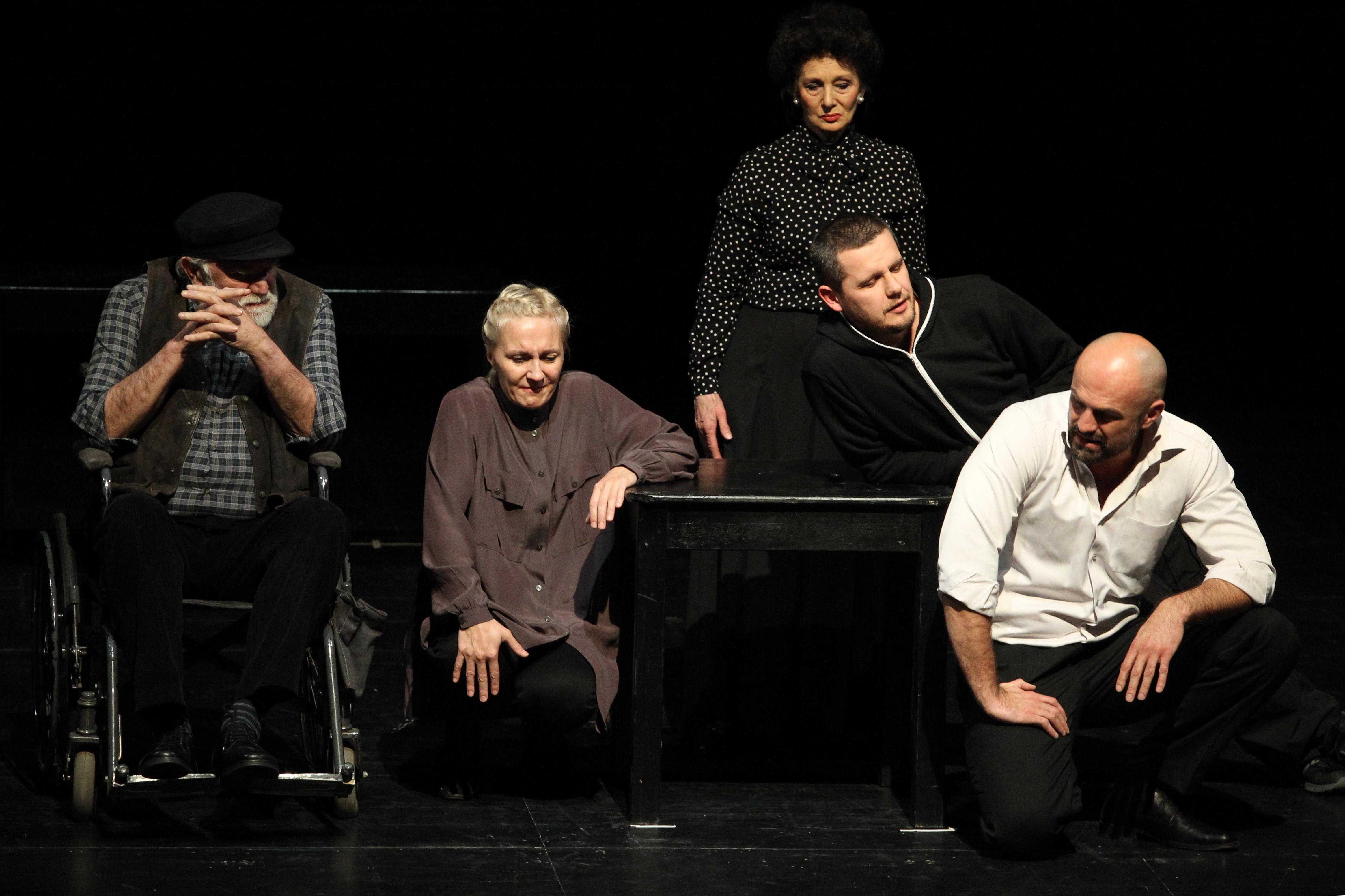 RCC supported guest performance of 'Divlje meso' by Sarajevo National Theatre in Belgrade, 21 December 2017. (Photo: RCC/Milan Obradovic)