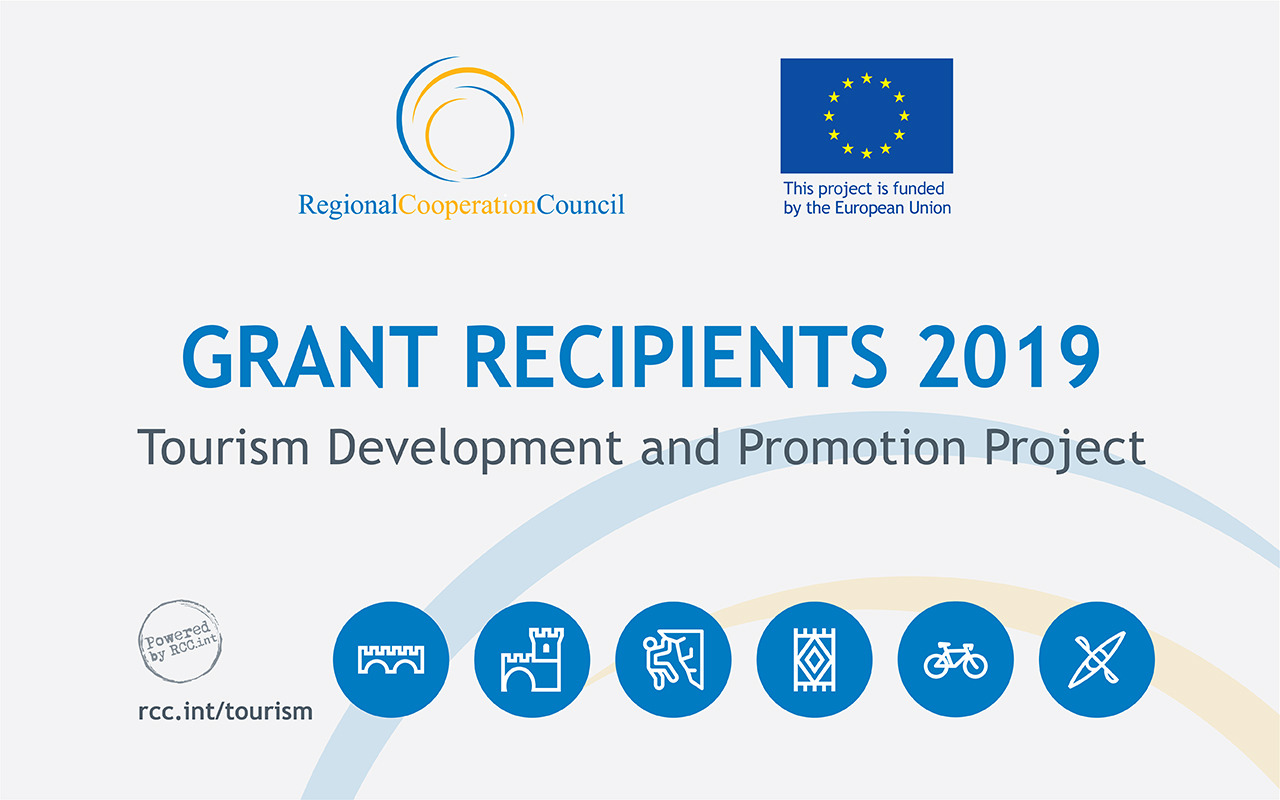 Overview of Grants Recipients – 2nd Call for Proposals, awarded by the RCC's Tourism Development and Promotion Project
