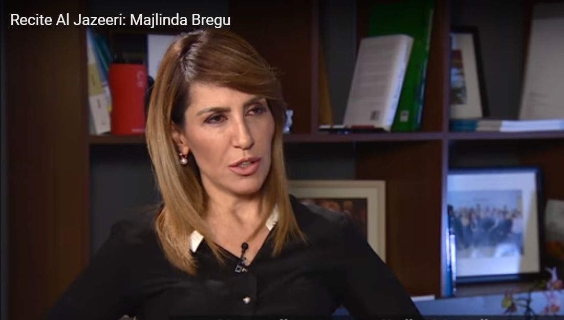 RCC Secretary General, Majlinda Bregu for Al Jazeera Balkans