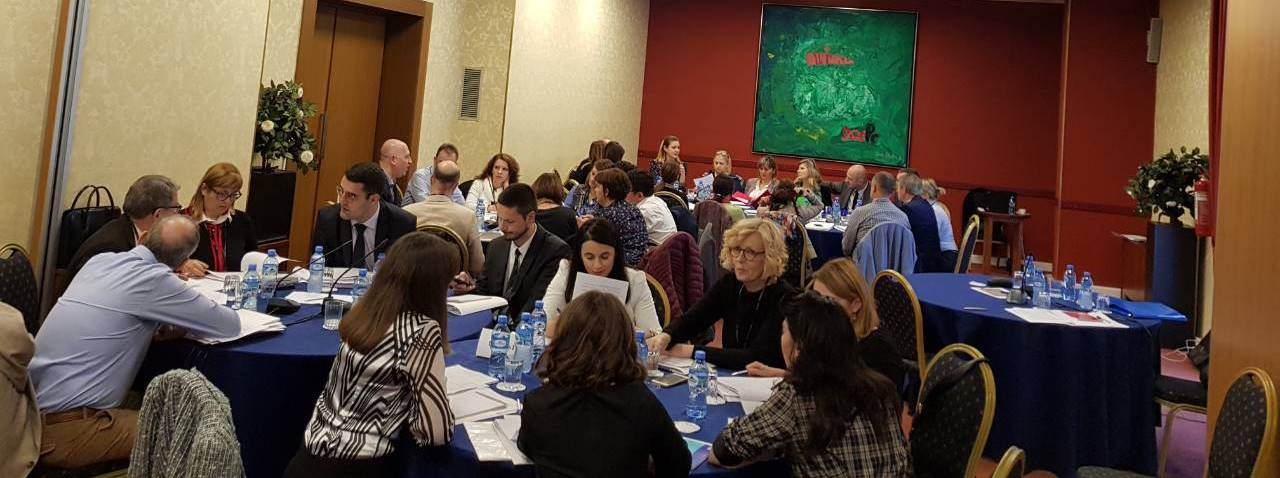 RCC-organised training session for the negotiations teams for the negotiations on the Agreement on the Mutual Recognition of Professional Qualifications of Doctors of Medicine, Dentists, Architects and Civil Engineers between the 6 Western Balkan economies (WB6), held in Tirana, 13-14 November 2018 (Photo: RCC)