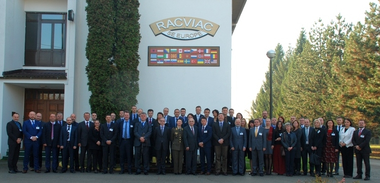 Group photo: Conference on Foreign Terrorist Fighters – Challenges for South Eastern Europe (Photo: courtesy of RACVIAC)