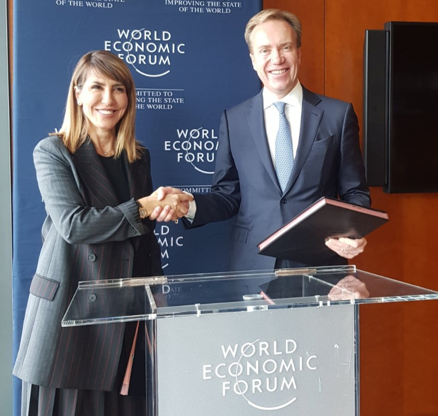 RCC signs Memorandum of Understanding with World Economic Forum (WEF) on accelerating regions competitiveness and innovation, in Geneva on 8 November 2019 (Photo: RCC/Maja Handjiska-Trandafilova)
