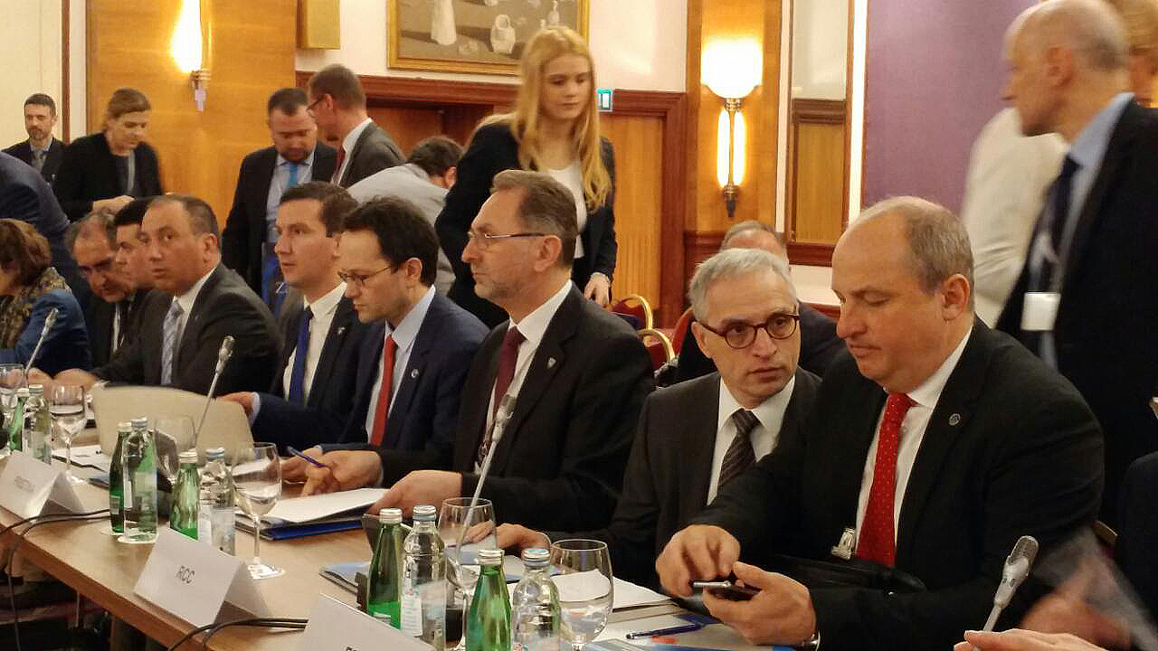 RCC Secretary General presented the RCC's report on activities in countering radicalization and violent extremism, at the informal meeting of the ministers of foreign affairs of the South - East European Cooperation Process (SEECP), on 3 March 2017 in Zagreb. (Photo: RCC/Gordana Demser)