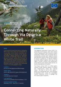 Connecting Naturally Through Via Dinarica White Trail, GRANT FACT SHEET
