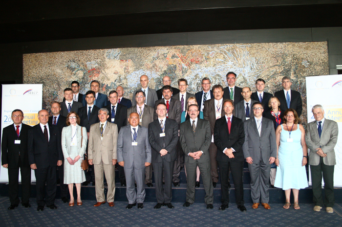Participants of the fourth RCC Annual Meeting held on 13 June 2012 in Belgrade, Serbia. (Photo RCC/Selma Ahatovic-Lihic)