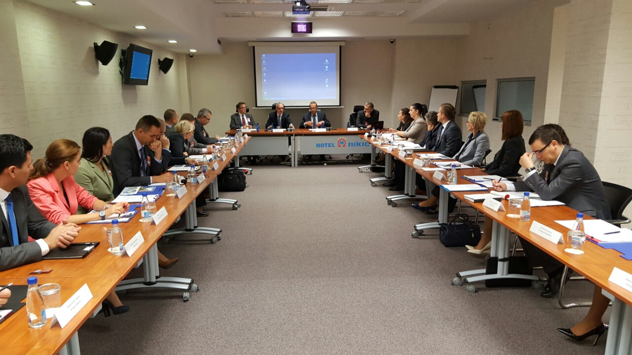 Meeting of the 6th SEENSA Forum, in Podgorica on 29 September 2016. (Photo: RCC/Natasa Mitrovic)