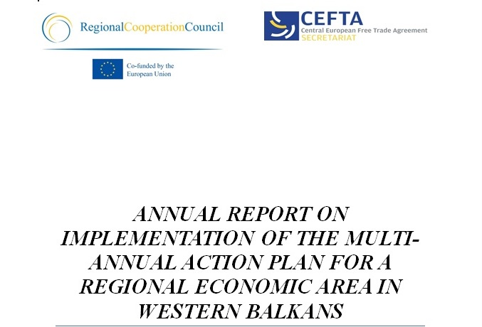ANNUAL REPORT ON IMPLEMENTATION OF THE MULTI-ANNUAL ACTION PLAN FOR A REGIONAL ECONOMIC AREA (MAP REA) IN WESTERN BALKANS (WB)