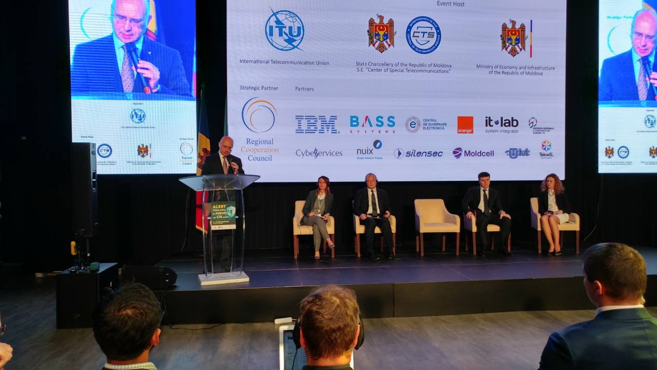 Cyber drill - Joint ALERT for Europe and CIS Regions organised by RCC and ITU, in Chisinau, Moldova, 21-23 November 2017 (Photo: RCC/Radovan Nikcevic)