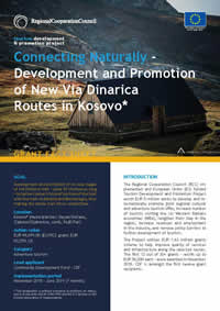 Development and Promotion of New Via Dinarica Routes, GRANT FACT SHEET