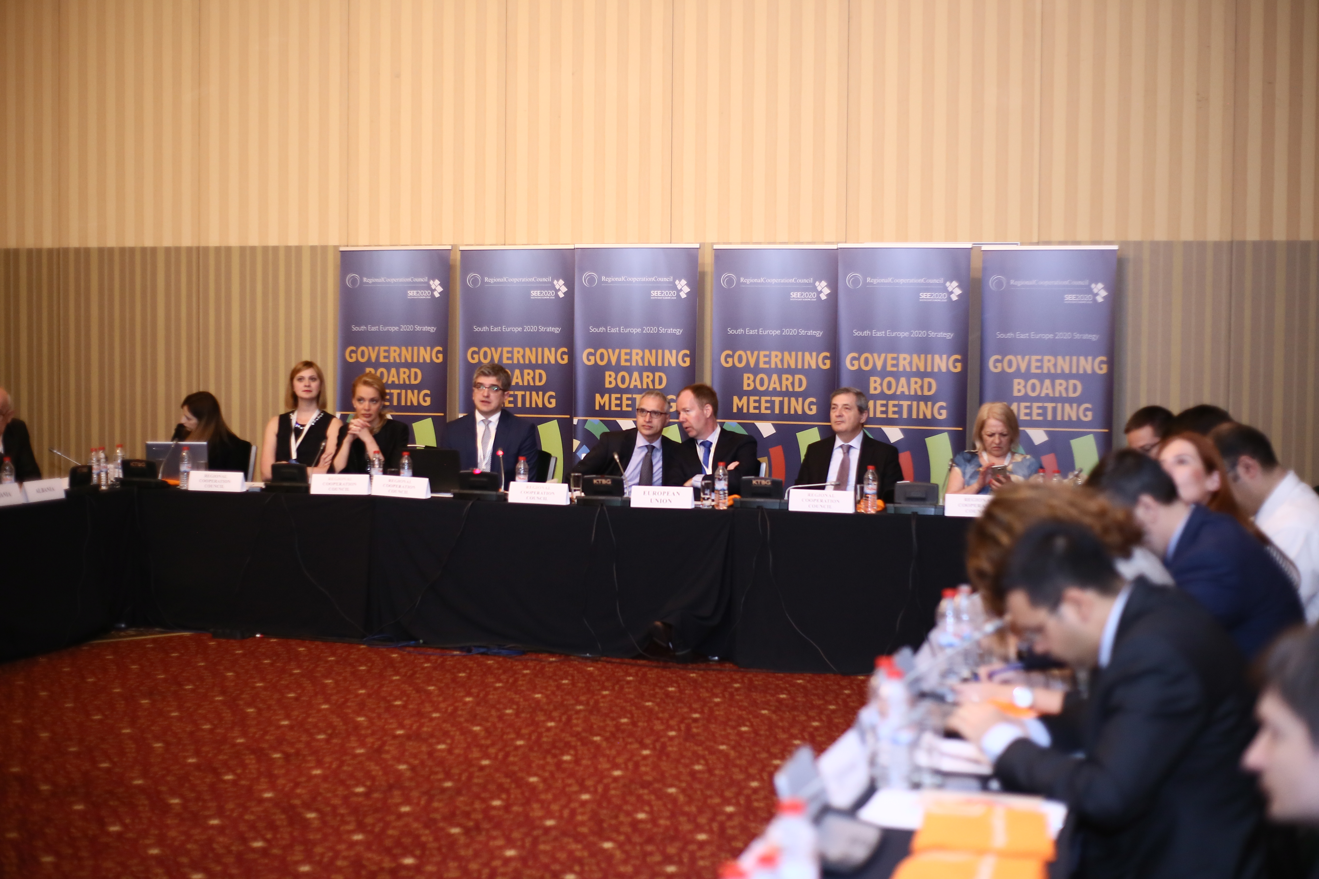 The third meeting of the Governing Board of the Regional Cooperation Council's (RCC) South East Europe 2020 (SEE 2020) Strategy took place in Pravets (Bulgaria), on 30 May 2016. (Photo: Regional Cooperation Council/Ivo Petkov)