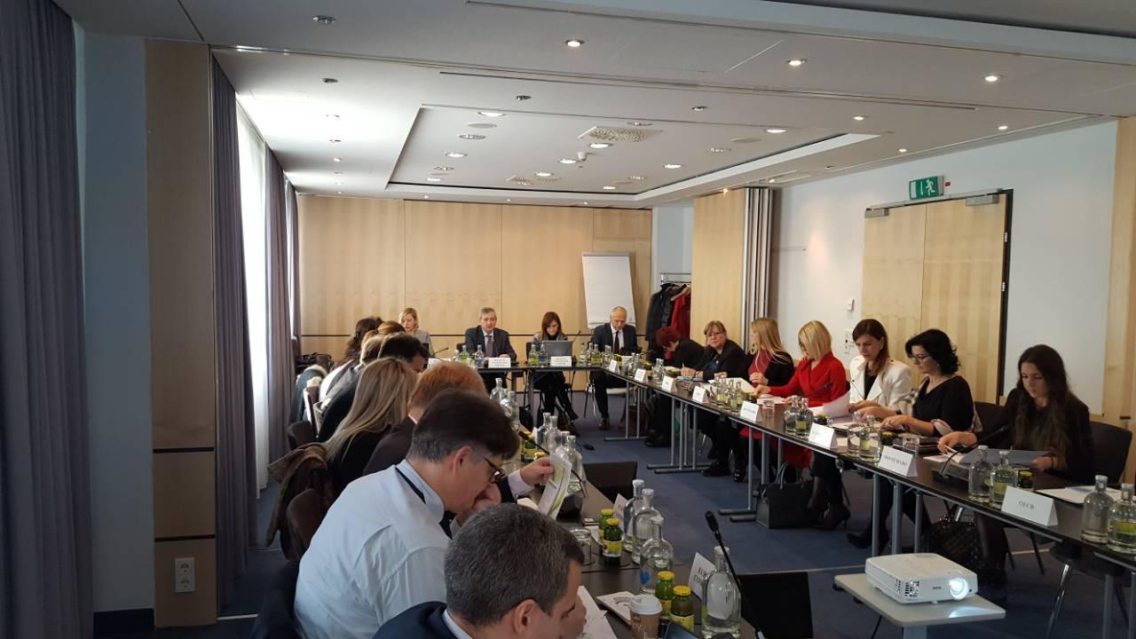 5th meeting of the SEE 2020 Strategy's Monitoring Committee, Vienna, 1 December 2017 (Photo: RCC/Nedima Hadziibrisevic)