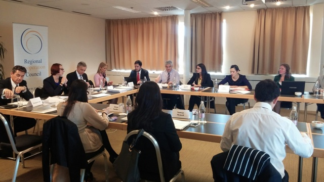 Regional Action Plan for South East Europe (SEE) in the area of justice has been unanimously approved at the first meeting of the Working Group on Justice, held under the guidance of the RCC Secretariat, in Ljubljana, Slovenia, 23 May 2014 (Photo: RCC/Vanja Vekic)