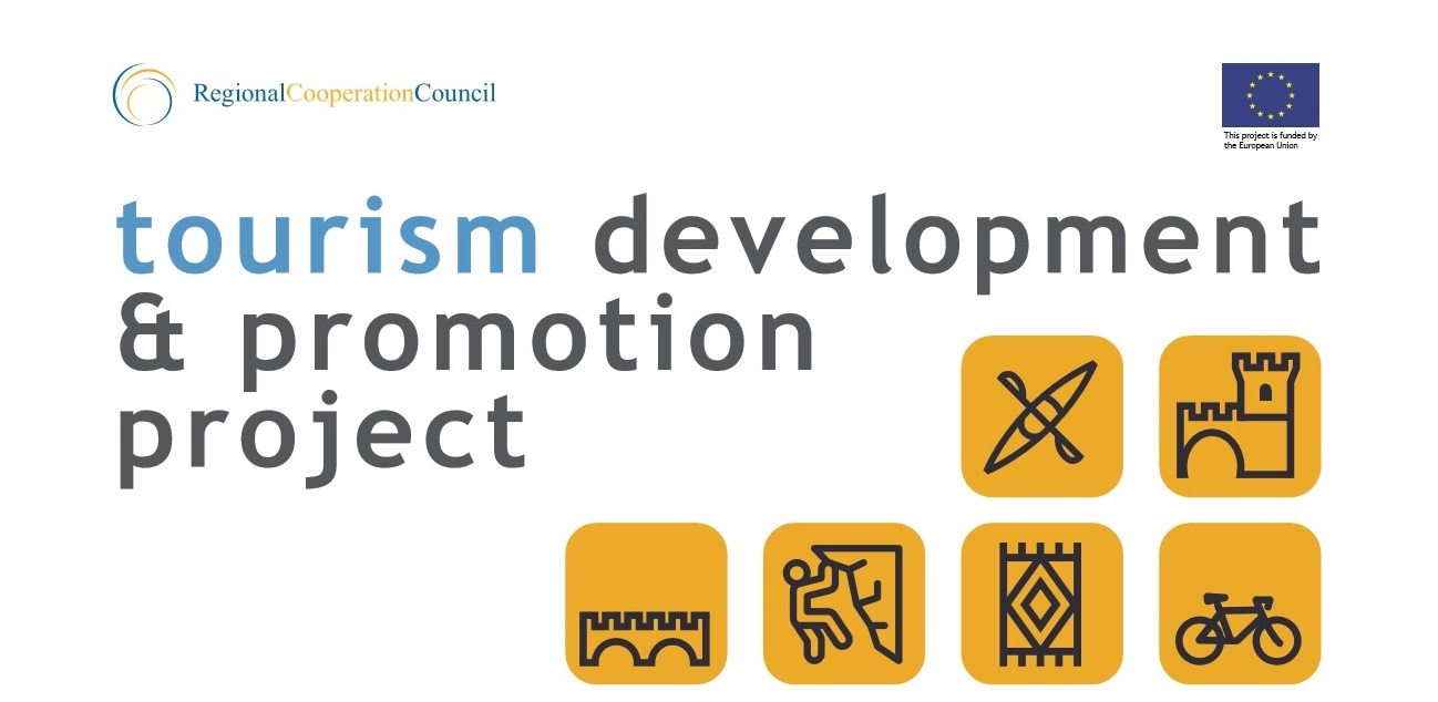 Overview of Grants Recipients – 1st Call for Proposals, awarded by the RCC's Tourism Development and Promotion Project