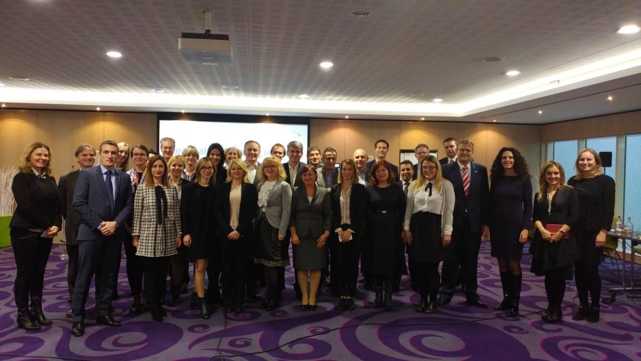 First Regional Meeting on the Digital Integration held in Brussels on 7-8 December 2017 (Photo: RCC/Nadja Greku)