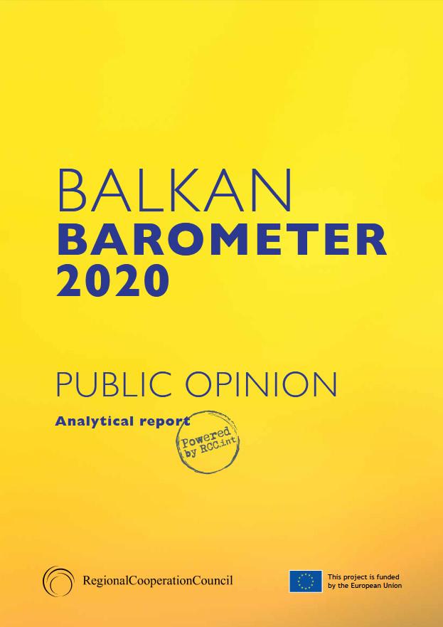 BALKAN BAROMETER 2020: PUBLIC OPINION SURVEY