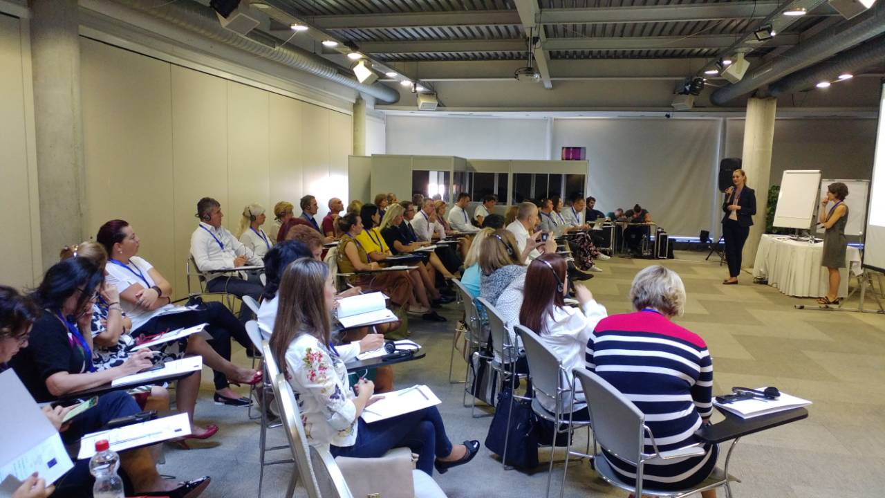 The 1st assessors training on benchlearning for representatives of Public Employment Services (PES) from the Western Balkans, organized by the RCC's ESAP project was held  in Belgrade on 14 September 2017 (Photo: RCC ESAP/Sanda Topic)