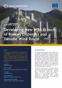 Western Balkans Branch of Roman Emperors and Danube Wine Route, GRANT FACT SHEET