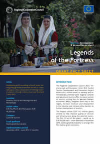 Legends of the Fortress, GRANT FACT SHEET
