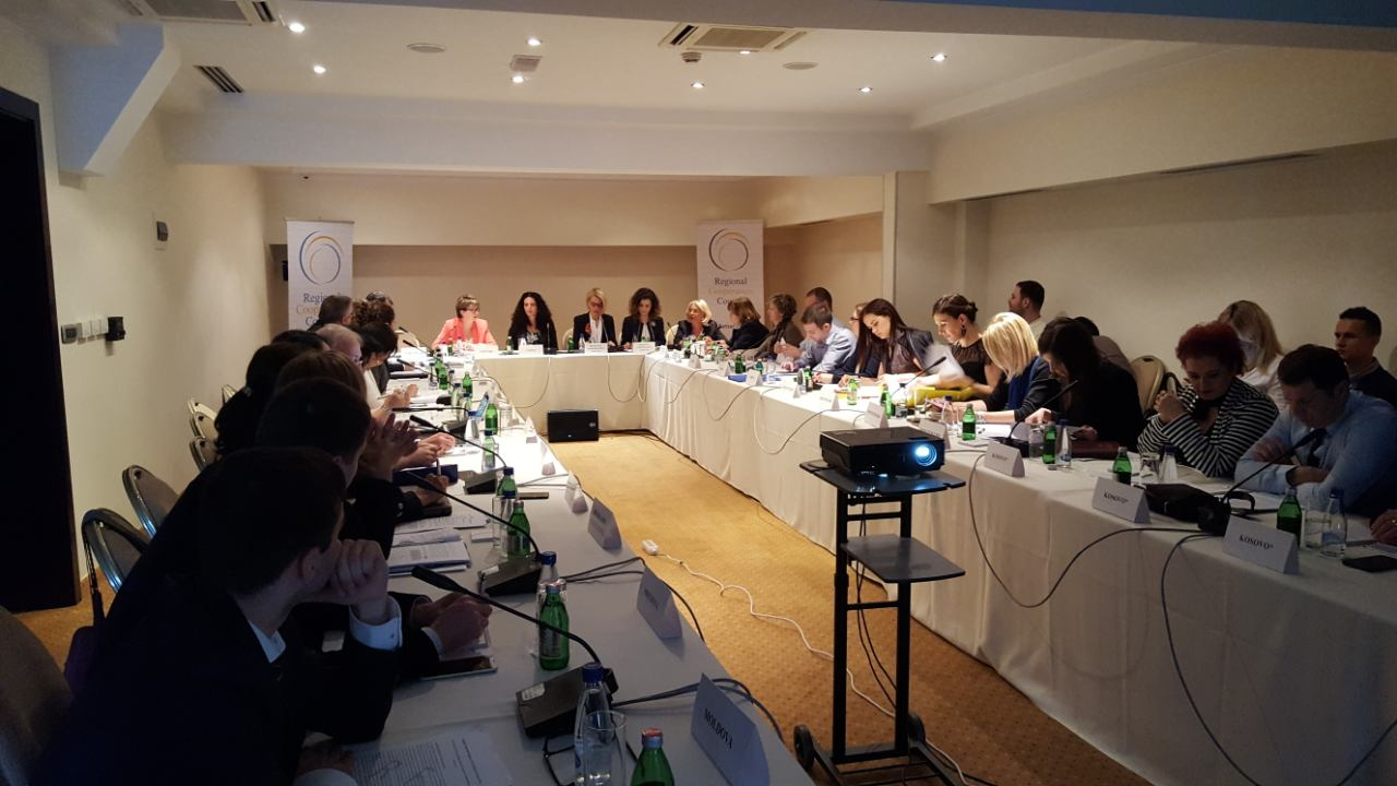 Regional Working Group on Investments met at its 7th regular meeting in Podgorica, Montenegro on 24 May 2017 (Photo: RCC/Nedima Hadziibrisevic)