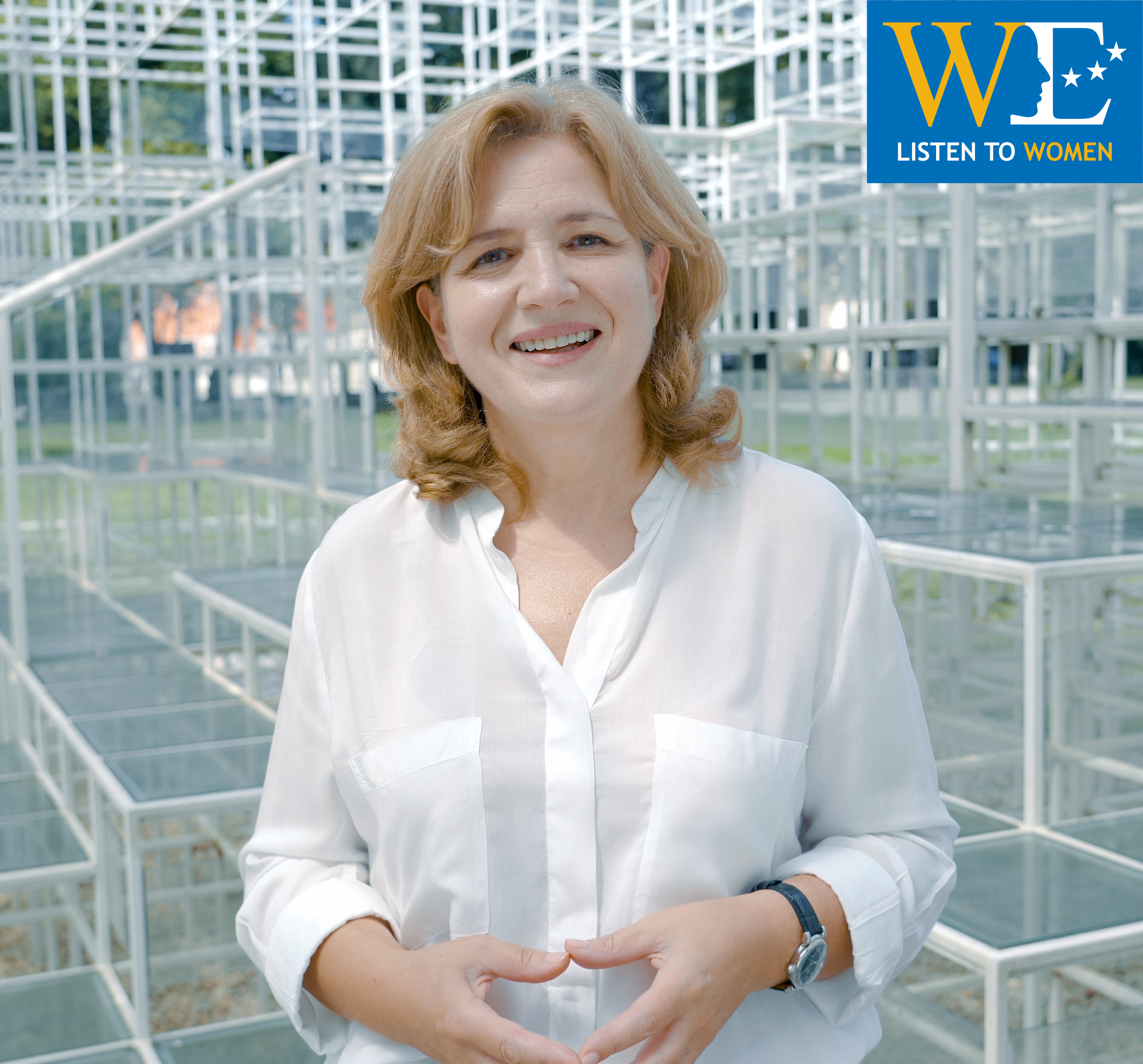 RCC's WE: Iris Gjinovci, SchoolMe Platform Co-Founder and Director (Photo: RCC/Kliker)