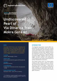 Mokra Gora Mt. - Undiscovered Pearl of Via Dinarica Trail, GRANT FACT SHEET