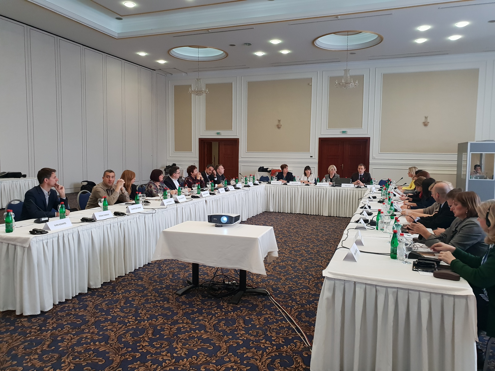 Regional peer review workshop focusing on internship programmes in Skopje 26-27 November 2018 (Photo: RCC/Sanda Topic)