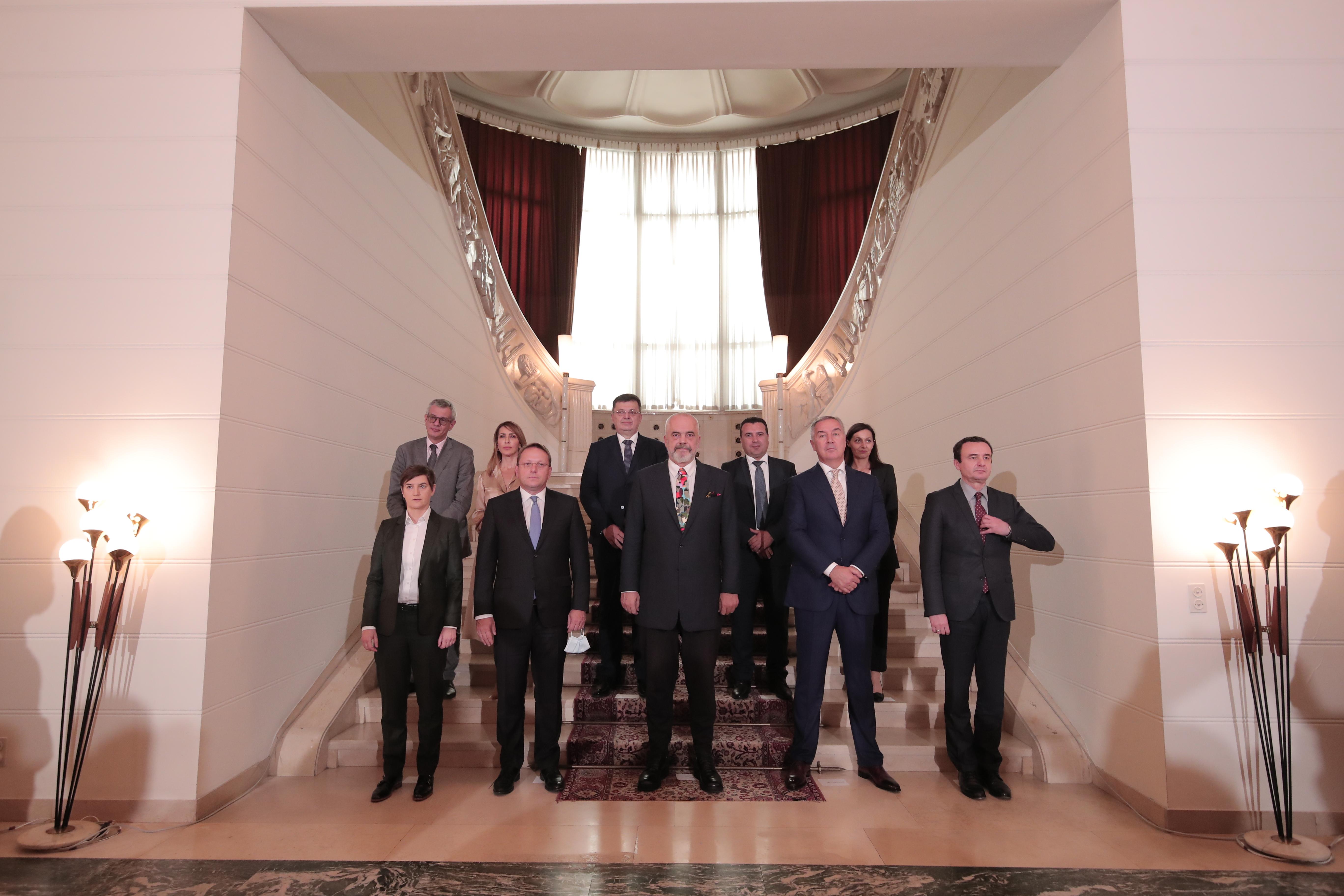 Tirana Western Balkans Six Summit on 10 June 2021 (Photo: RCC/Ani Media)