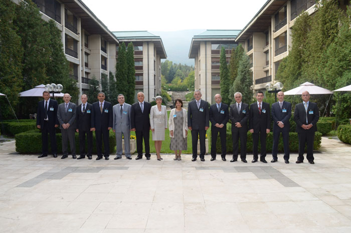 Participants of the 4th conference of the South East European Military Intelligence Chiefs, Sofia, Bulgaria, 19 September 2012. (Photo: Courtesy of the Defence Information Service of Bulgaria)