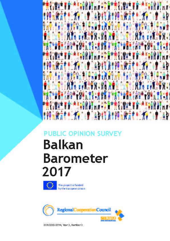 BALKAN BAROMETER 2017: PUBLIC OPINION SURVEY