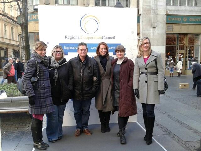 Belgrade Street installations Team