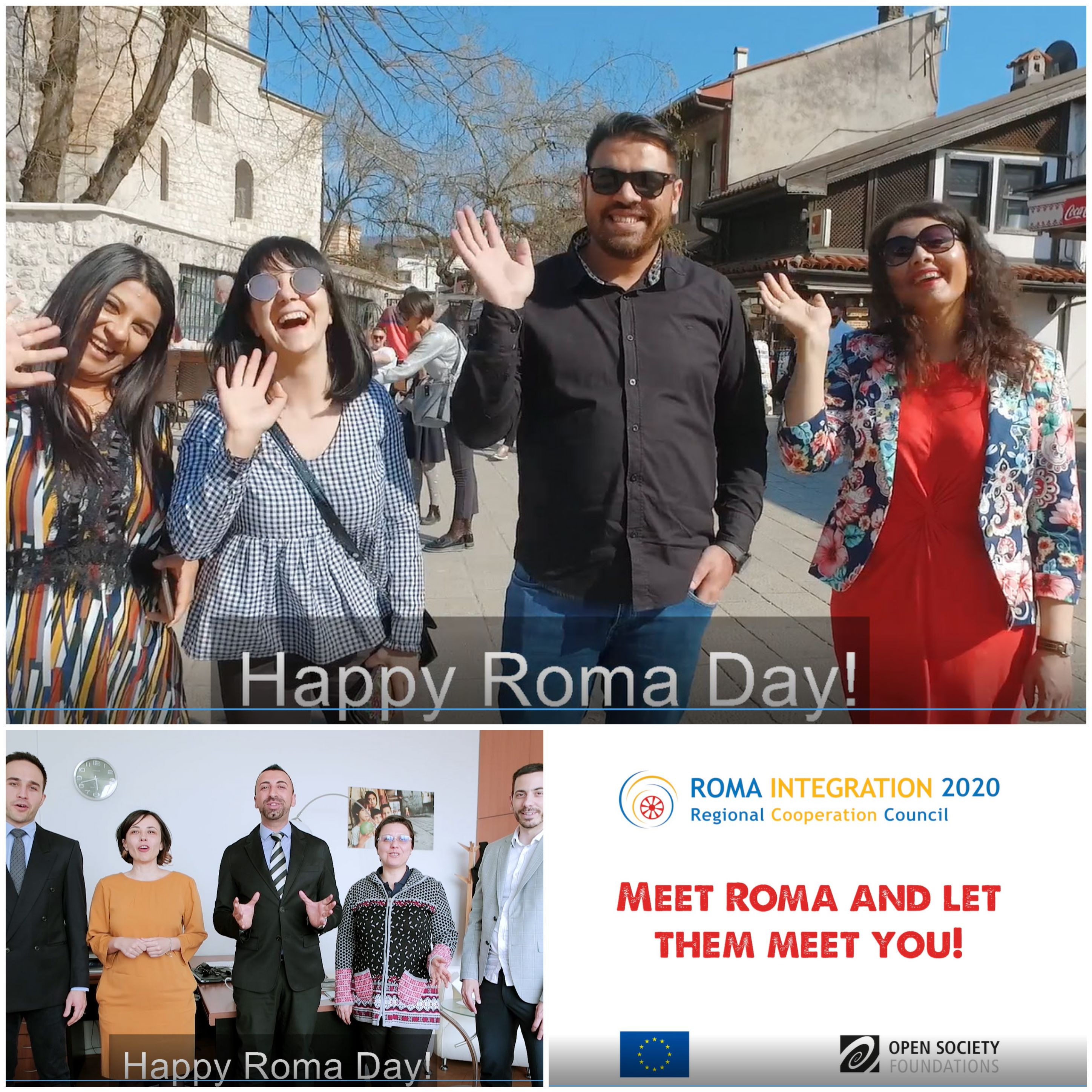Regional Cooperation Council (RCC) and it's project Roma Integration 2020 are marking 8 April, International Roma Day (Photo: RCC/Klicker)