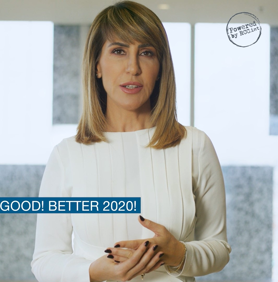 Regional Cooperation Council (RCC) with Secretary General Majlinda Bregu wish you Good! Better 2020!