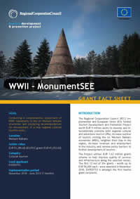 MonumentSEE – Western Balkans Monumental Trail, GRANT FACT SHEET
