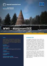 MonumentSEE – Western Balkans Monumental Trail, GRANT FACT SHEET