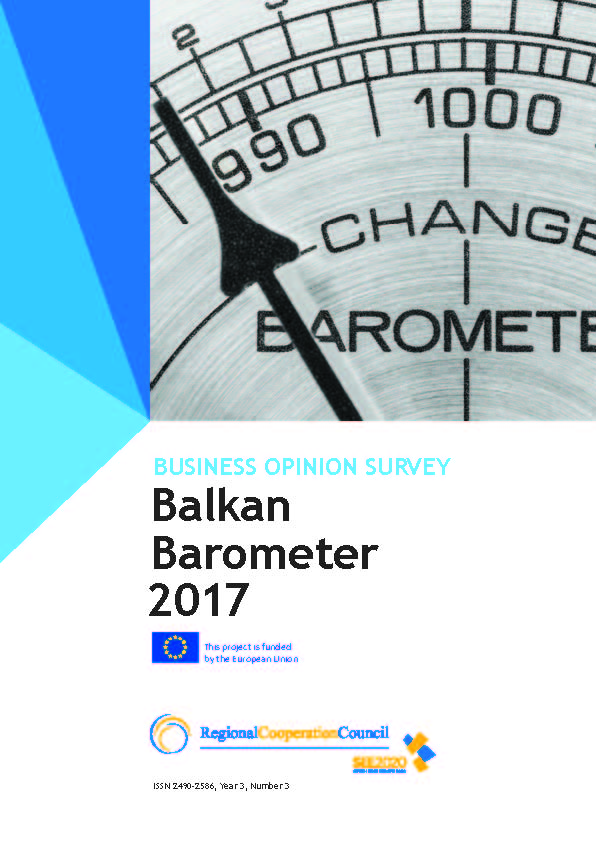 BALKAN BAROMETER 2017: BUSINESS OPINION SURVEY