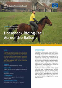 Horseback riding trail across the Balkans, GRANT FACT SHEET