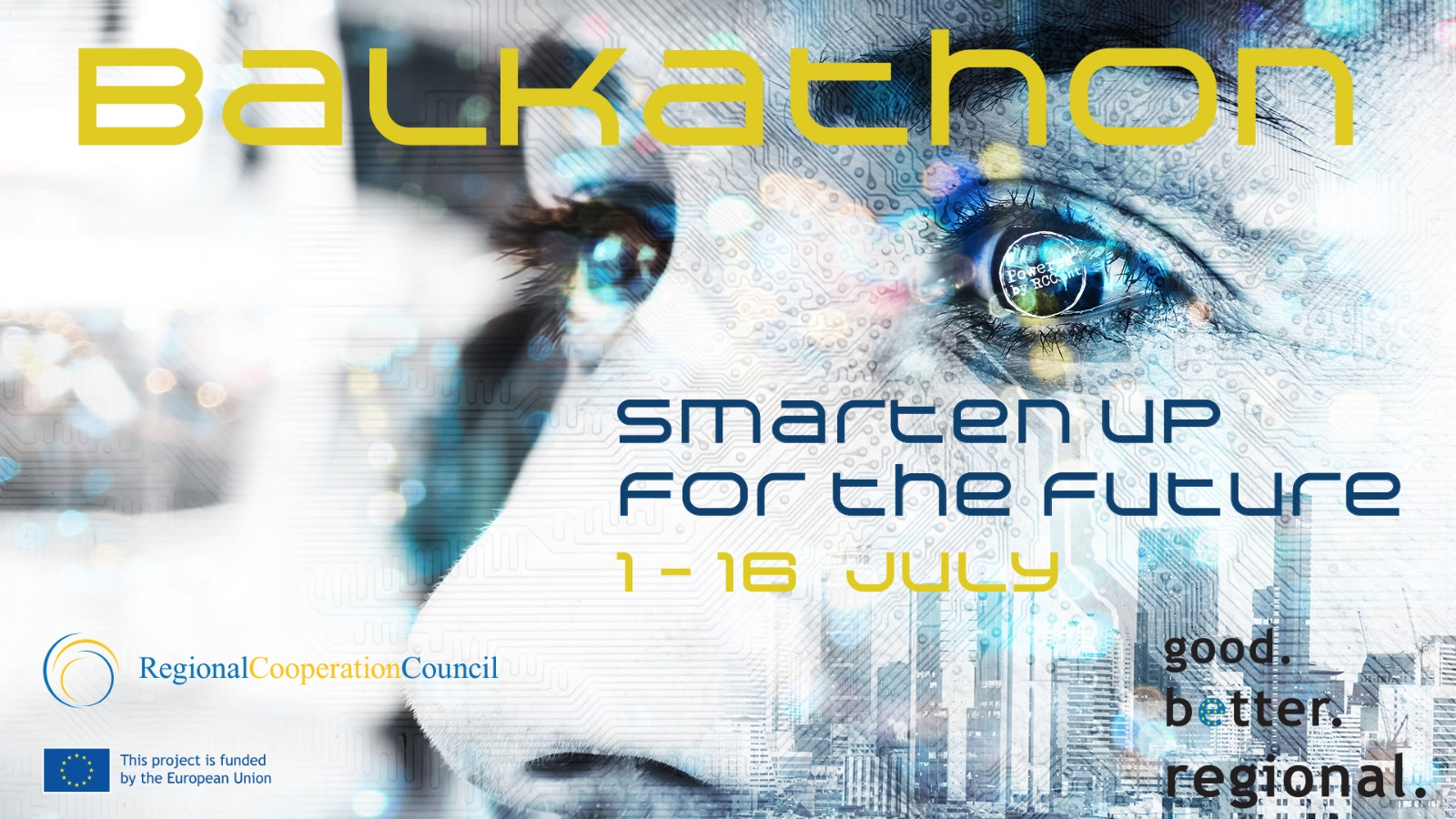 Smarten up for the future - RCC organizing first regional online Balkathon seeking innovative solutions in Smart Tourism, Digital Learning Platform and Online Payments Solution