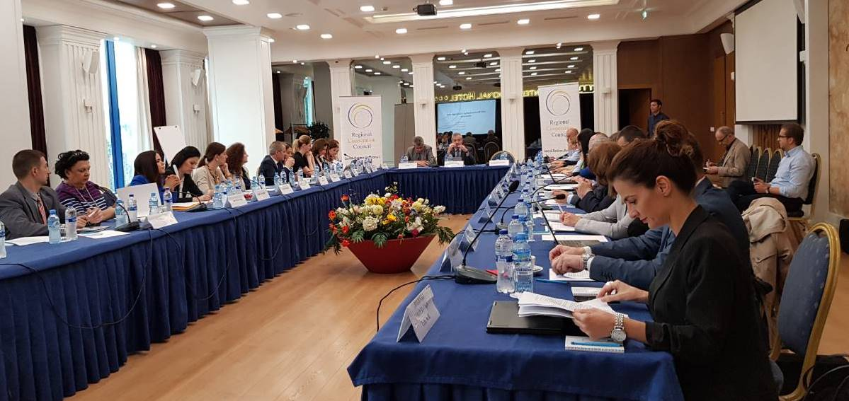 2nd meeting of the Component Contact Points (CCPs) of  the Multiannual Action Plan for the Regional Economic Area (MAP REA) for the Western Balkans Six (WB6), convened by the Regional Cooperation Council (RCC), held in Tirana, Albania on 15 May 2018 (Photo: RCC/Nadja Greku)