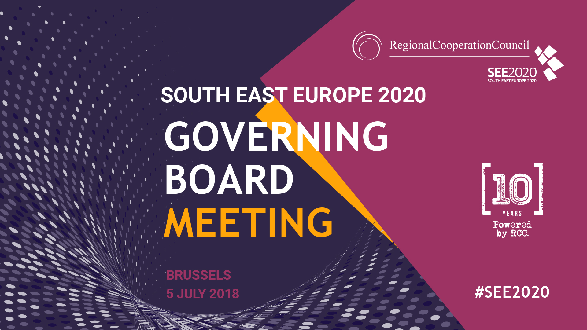 5th Meeting of the SEE2020 Governing Board