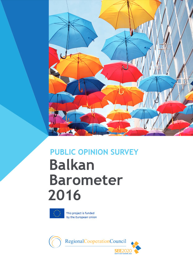 Balkan Barometer 2016: Public Opinion Survey