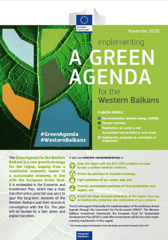 Green Agenda for the Western Balkans
