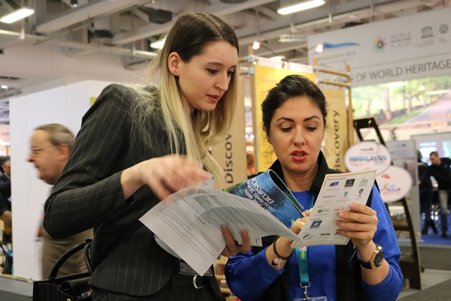 The RCC powered the promotion of the Western Balkans adventure and cultural tourism offer at the ITB Berlin tourism fair 6-10 March 2019 (Photo: RCC/Nikola Gaon)