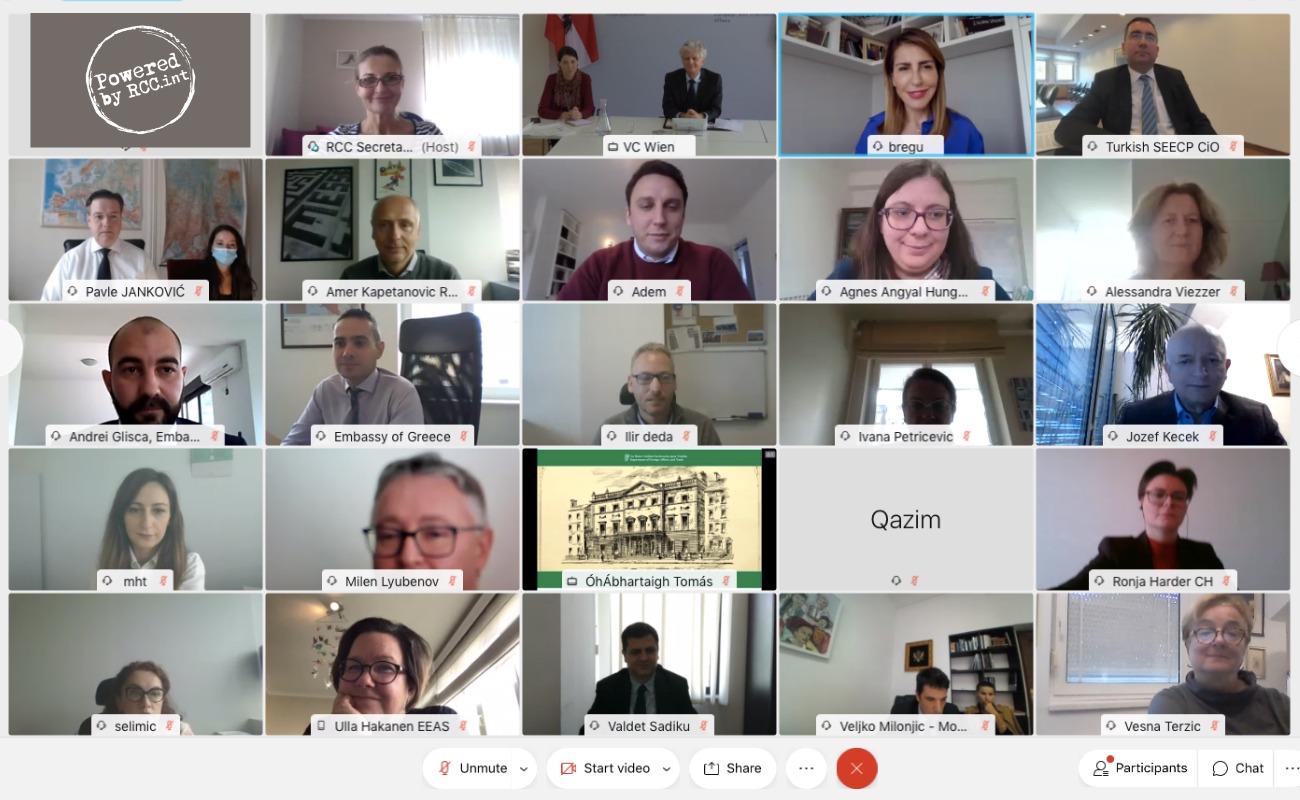 41st RCC Board Meeting held online on 15 October 2020