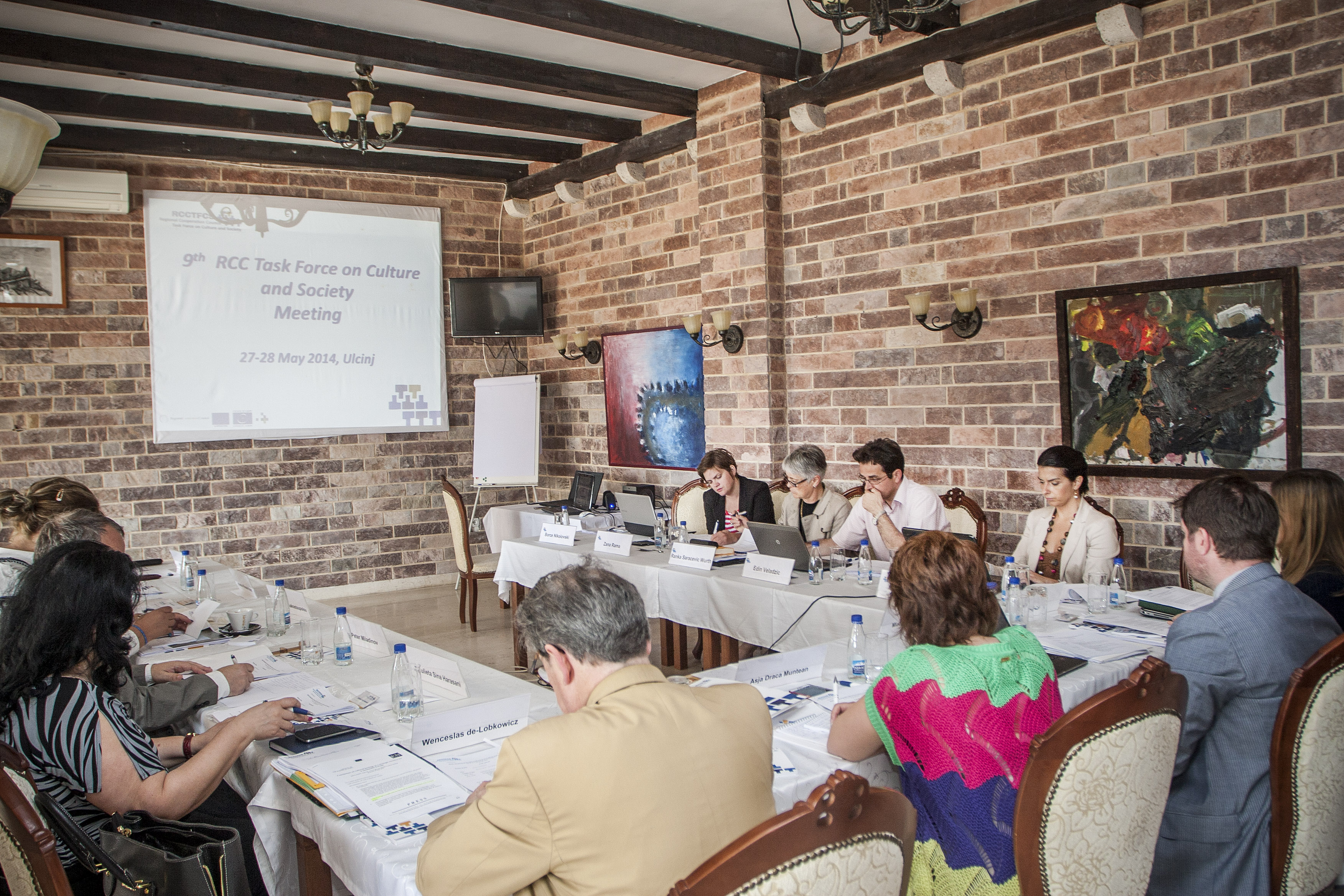 The ninth meeting of the RCC Task Force on Culture and Society was held on 28 May 2014 in Ulcinj, Montenegro. (Photo RCC/Milena Filipovic)