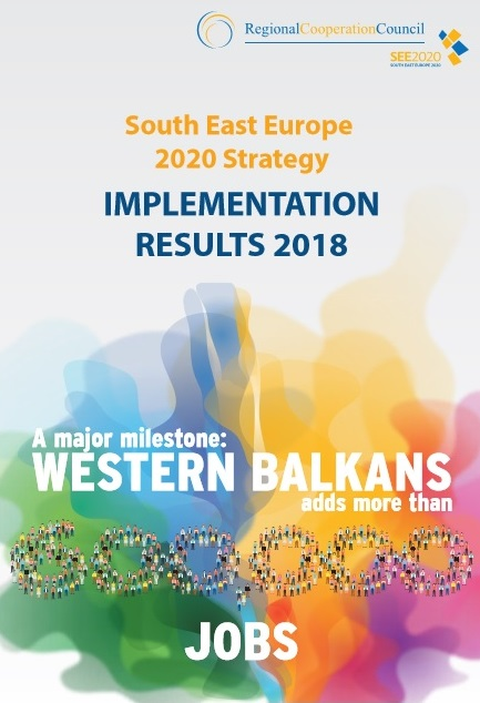 Brochure: South East Europe 2020 (SEE 2020) Strategy -  2018 IMPLEMENTATION RESULTS