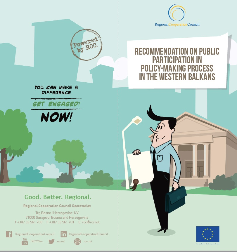 Recommendation on Public Participation in Policy-Making Process for Western Balkans