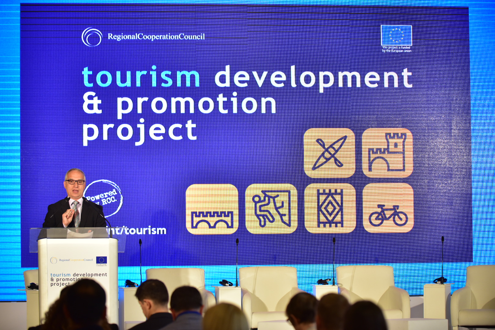 Launch of the RCC-led Tourism Development and Promotion Project, in Sarajevo City Hall on 28 June 2018 (Photo:RCC/Armin Durgut)