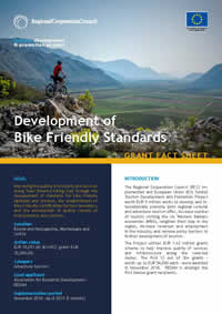 Development of Bike Friendly Standards, GRANT FACT SHEET