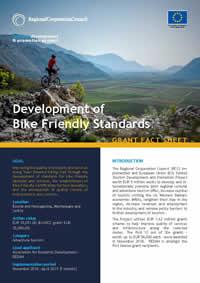 Development of Bike Friendly Standards, GRANT FACT SHEET
