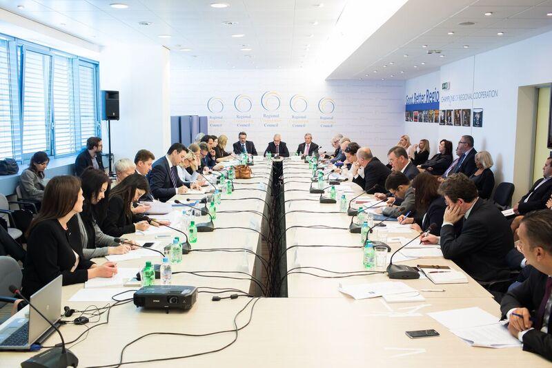 32nd meeting of the RCC Board in Sarajevo on 16 May 2017 (Photo: RCC/Haris Calkic)